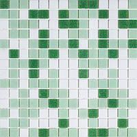 Мозаика для бассейна зеленая Vivacer GLmix200