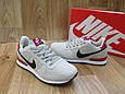 Женские Кроссовкив стиле Nike Air Berwuda замшевые серые, фото 3