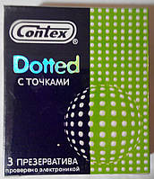 Презервативы Contex Dotted