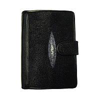 Мужское портмоне из кожи ската Classic Ckat, кожаный кошелек, с доставкой по Киеву и Украине