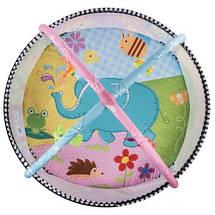 Развивающий коврик Lionelo Carla с шариками, фото 3