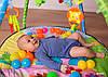 Развивающий коврик Lionelo Carla с шариками, фото 5