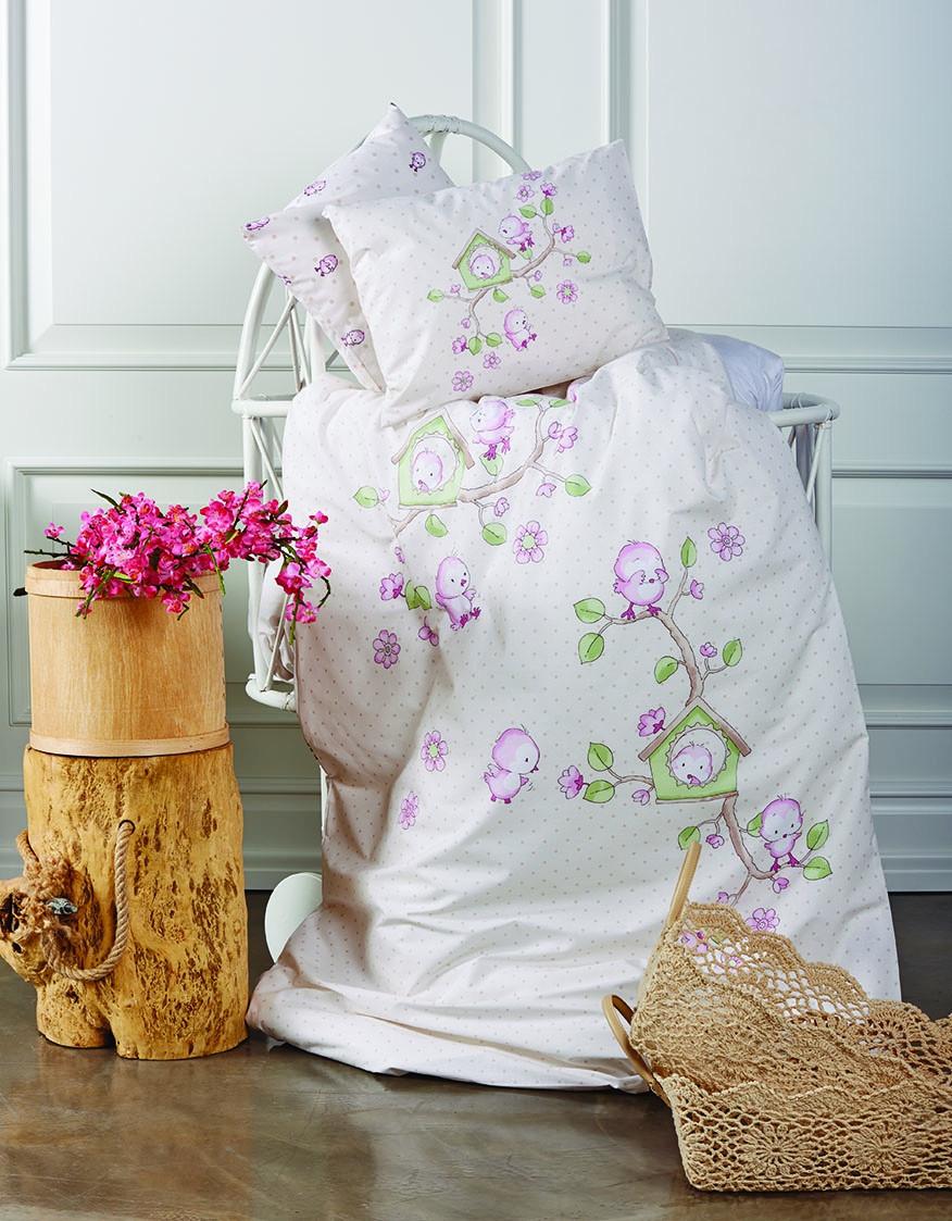 Постельное белье для новорожденных Karaca Home Minik Kus.