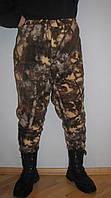 Мужские камуфлированные штаны из флиса (осен. лес), фото 1