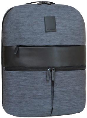 Городской рюкзак с отделом для ноутбука Square черный  продажа, цена ... bf392c6aa3b