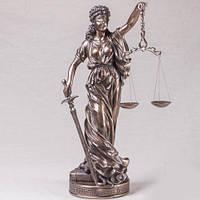 """Бронзовая статуэтка """"Фемида"""" (26 см)"""