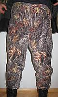 Мужские камуфлированные штаны из флиса  (дубок), фото 1