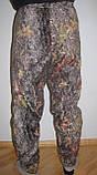 Мужские камуфлированные штаны из флиса  (дубок), фото 2