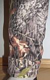Мужские камуфлированные штаны из флиса  (дубок), фото 4