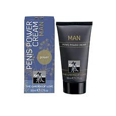 Крем для усиления эрекции Shiatsu Man Penis Power Cream, 50 мл , фото 3
