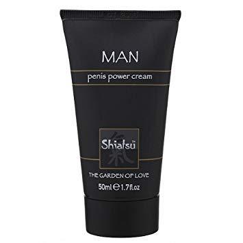 Крем для усиления эрекции Shiatsu Man Penis Power Cream, 50 мл