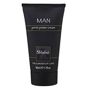 Крем для усиления эрекции Shiatsu Man Penis Power Cream, 50 мл , фото 2