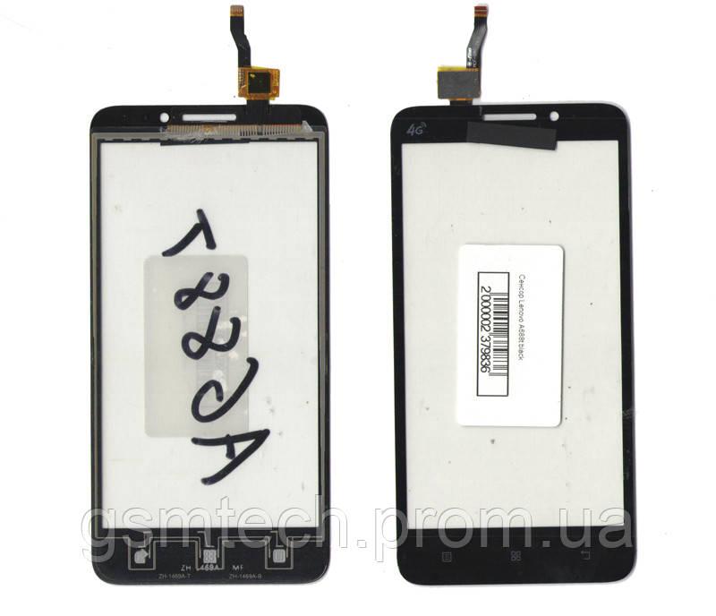 Сенсор (Тачскрин) для Lenovo A688t черного цвета