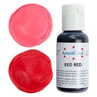 Краситель гелевый Americolor  красный, ред ред  21 грамм