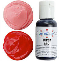 Краситель гелевый Americolor Насыщенный  красный  21 грамм
