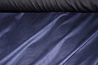 046.Ткань замш на дайвинге темно синий 009, фото 1