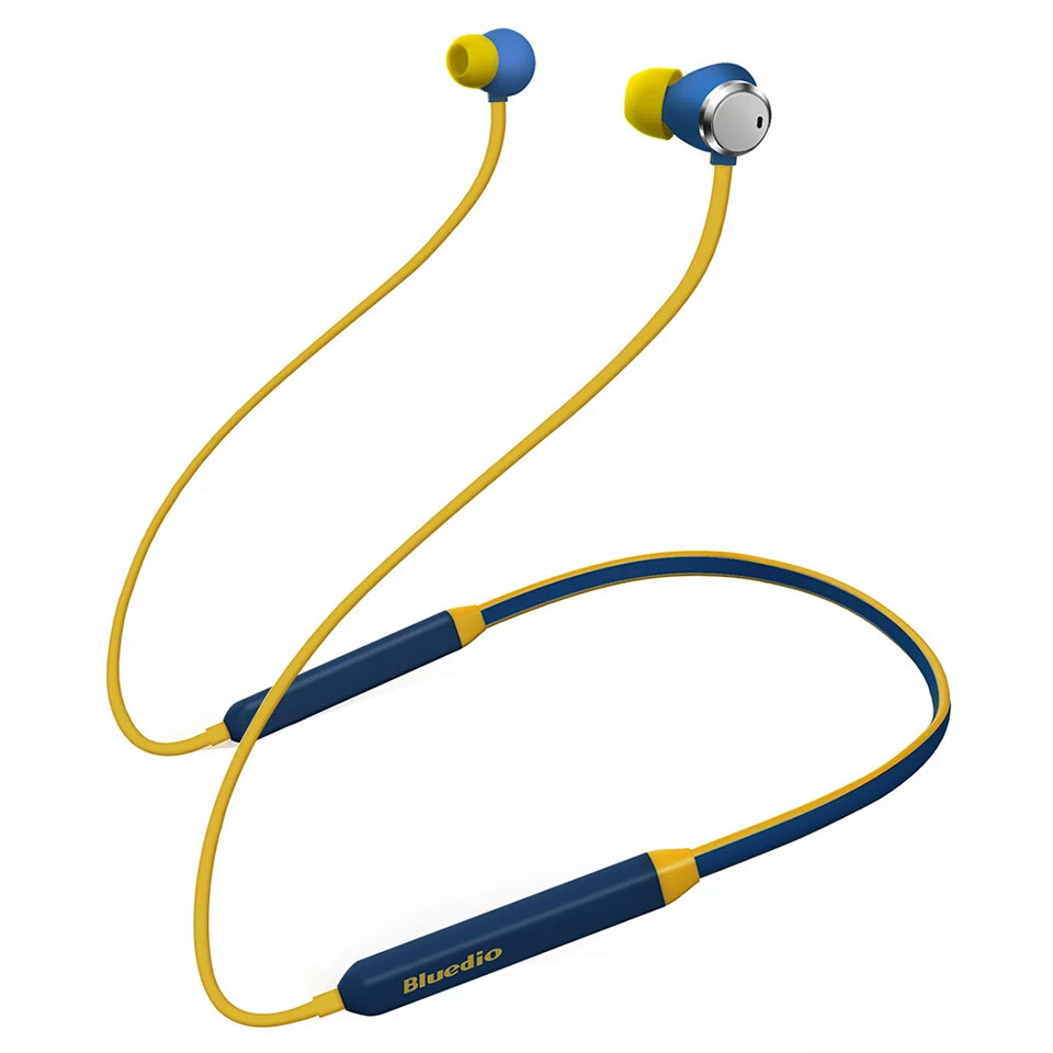 Беспроводные наушники (гарнитура) Bluedio TN Active Blue