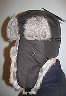 Шапка-ушанка Norfin Ardent черная, фото 1