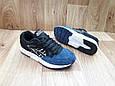 Женские Кроссовки в стиле  Asics Gel Lyte V замша черные с синим, фото 4