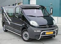 Козырек прозрачный Renault Trafic (Турция)