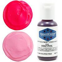 Краситель гелевый Americolor  темно- розовый  21 грамм