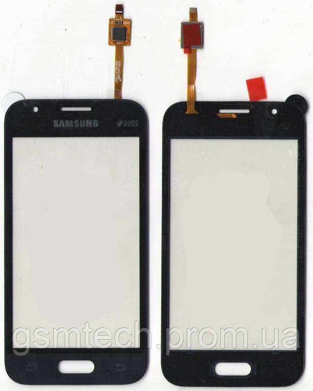 Сенсор (Тачскрин) для Samsung J105H Galaxy J1 Mini (2016) черного цвета