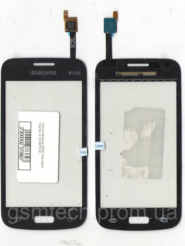 Сенсор (Тачскрин) для Samsung G350/G350E/G350H серого цвета (IC BT432)