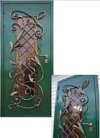 Кованые двери, металлические двери с ковкой