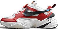"Мужские кроссовки в стиле Nike M2K Tekno x Off-White ""White\Red"