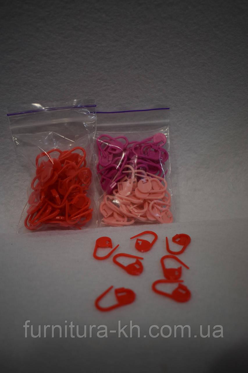Пластиковая булавка/маркер для вязания маленькие.
