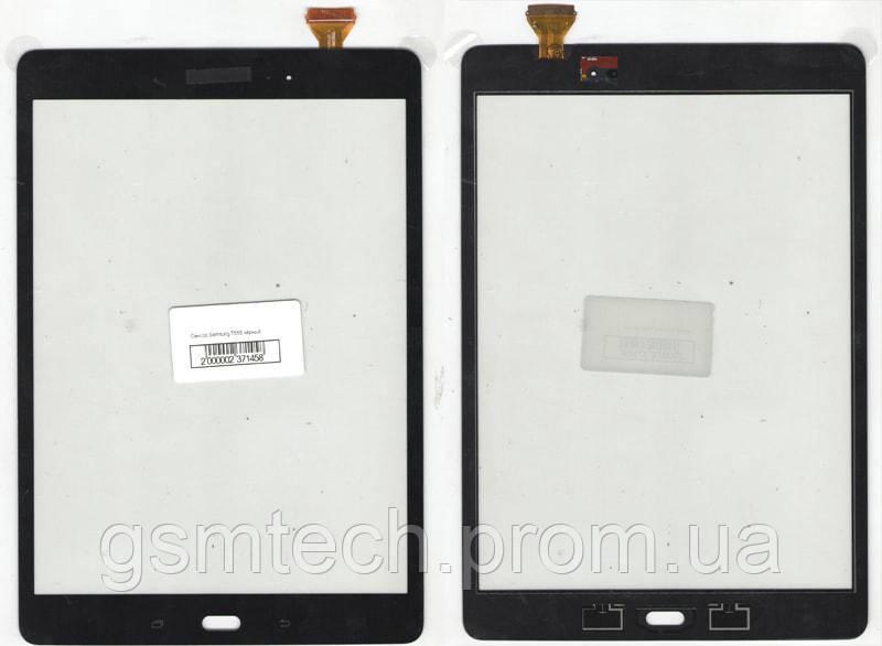 Тачскрин (сенсор) для Samsung Galaxy Tab A 9.7 T550/T555 черного цвета