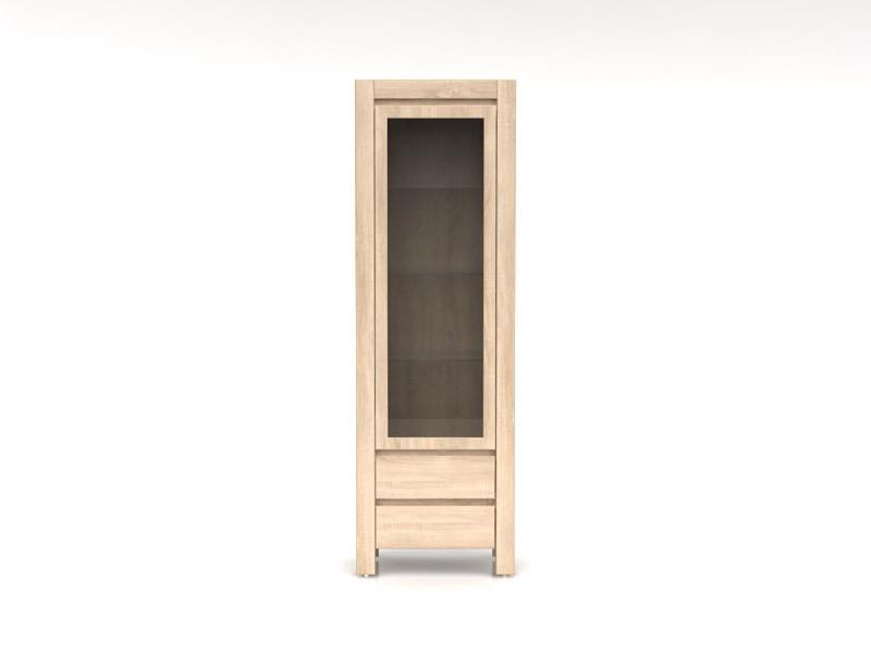 Шкаф витрина левая Agustyn-REG1WM2SL