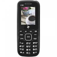 Мобильный телефон 2E E180 Dual Sim Black-Blue (708744071163)