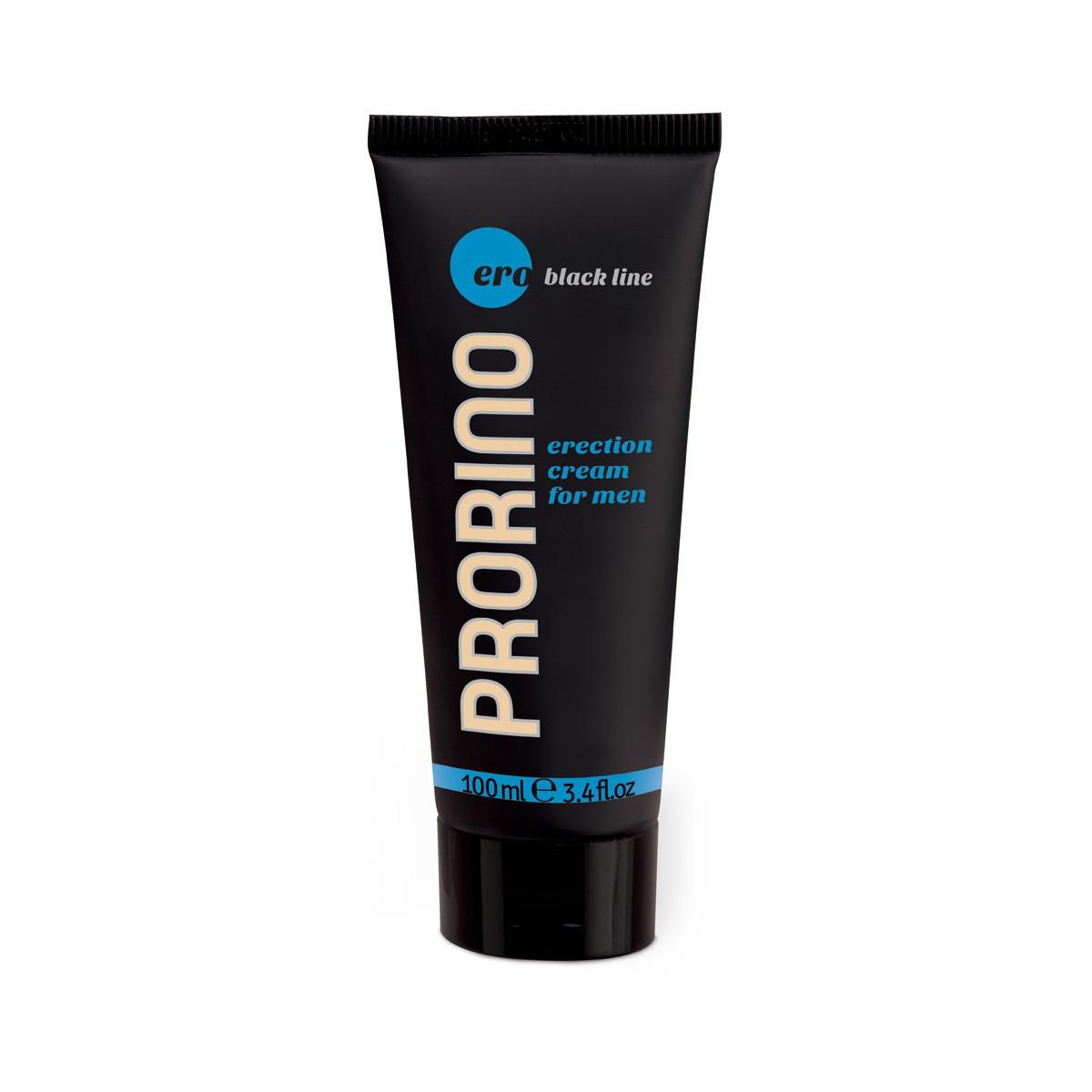 Крем для усиления эрекции Ero Prorino black line erection cream for men, 100 мл