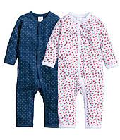 Детские человечки для девочки (2 шт) 1-2, 2-4 ,4-6 месяцев, фото 1