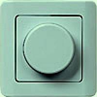 ВСРк10-1-0-ГФ Светорегулятор поворотный кнопочный (фисташковый металлик)