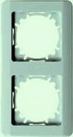 РВ-2-ГФ Рамка двухместная (фисташковыйй металлик)