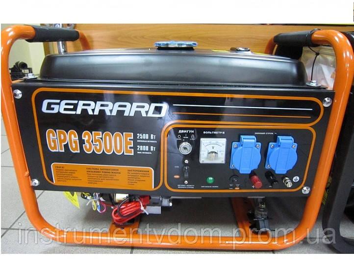 Бензиновый генератор GERRARD GPG 3500Е