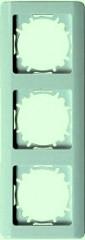 РВ-3-ГФ Рамка трехместная (фисташковый металлик)