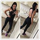 Женский комбез для фитнеса с открытой спиной 51so137, фото 3