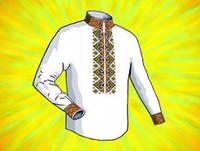 Заготовка для вышивки сорочки (Домотканое полотно)