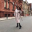 Женское теплое пальто на утеплителе классического кроя 58pt49, фото 3