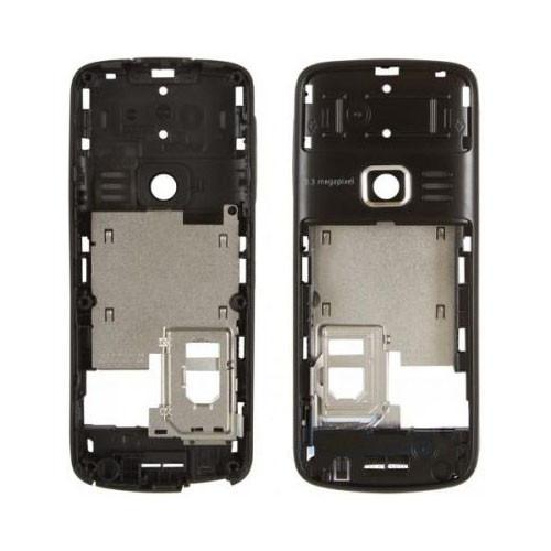 Средняя часть корпуса Nokia 3110 classic черная, Середня частина корпуса Nokia 3110 classic чорна