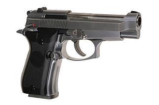 Страйкбольный пистолет M84 Mini - silver [WE] (для страйкбола), фото 3