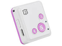 Автомобильный GPS трекер RF-V16  Розовый