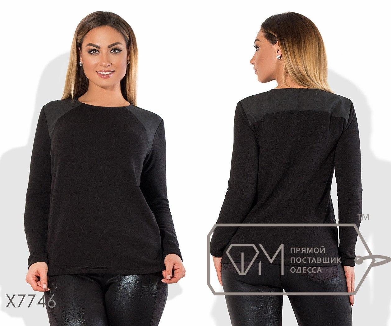 Женский свитер в больших размерах из ангоры fmx7746