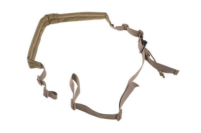 2-pkt ремень оружейный CP P5 - tan [Primal Gear] (для страйкбола), фото 2