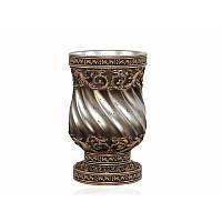 Стакан для зубных щеток Irya - Queen bronze бронзовый