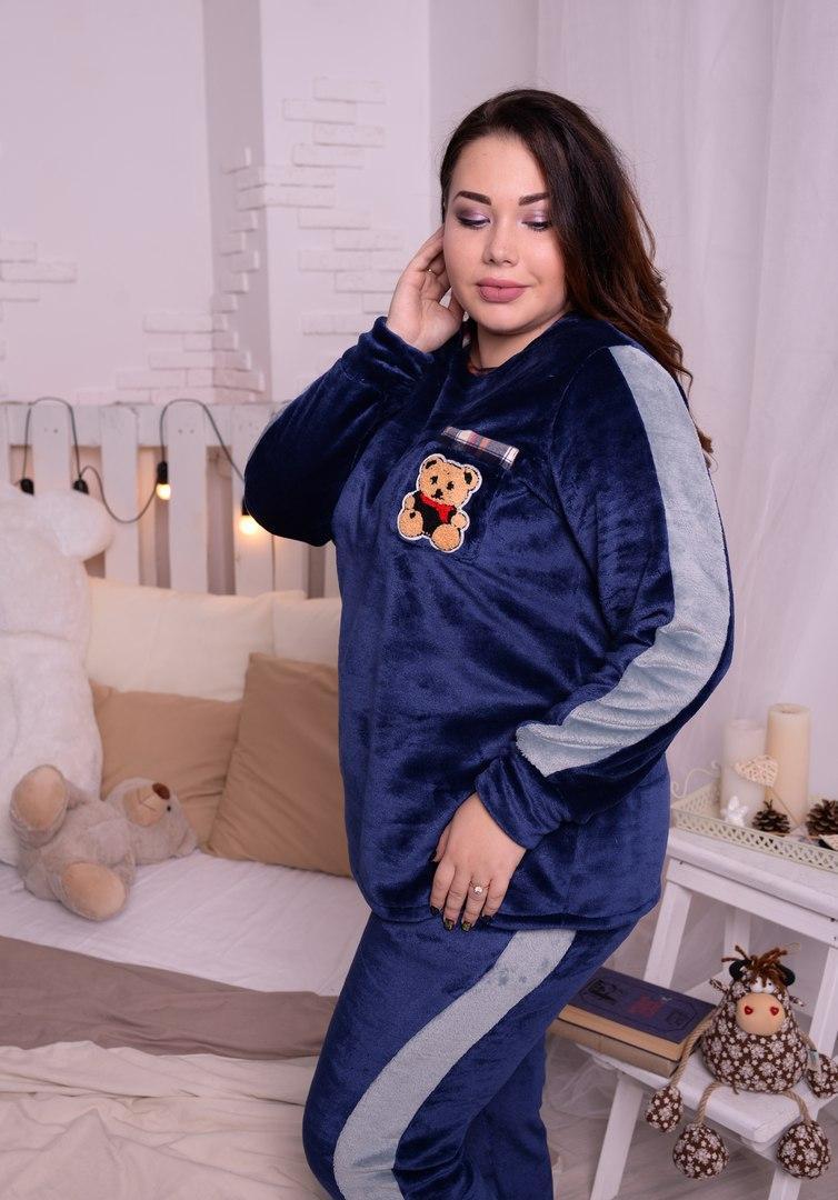 Женская пижама в больших размерах из махры высокого качества 10dd28