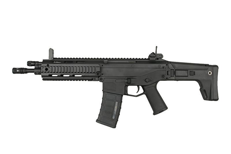 Реплика автоматической винтовки MSD CQB - black [A&K]